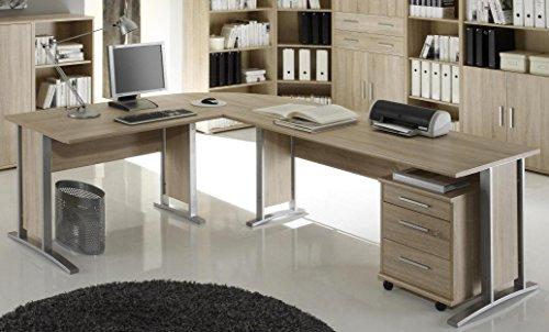 Bega Eck-PC Schreibtisch XXL mit Container