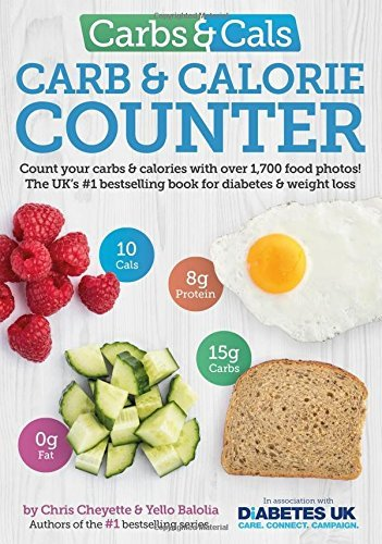 Carbs & Cals Carb & Calorie Counter: Count Your Carbs & Calories with Over 1,700 Food & Drink Photos! by Chris Cheyette (2016-04-11)