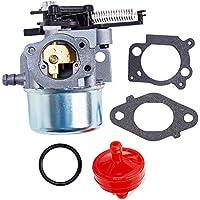 MZY LLC 796608 Kit de carburador para Briggs & Stratton 111000 121000 11P000 12Q000 Series cortacésped