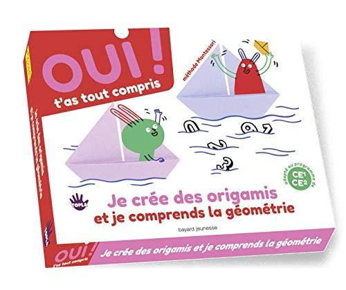 Box 4 : je crée des origamis et je comprends la géométrie