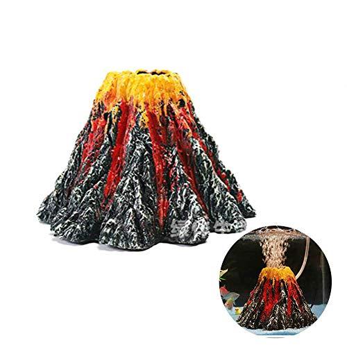 Ogquaton Acuario Volcano Air Stone Bubbler Bomba
