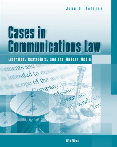 Cases in Communications Law: with infotrac