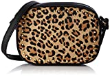 New Look Damen Leanda Leopard Umhängetasche, Braun (Brown Pattern), 5x13x18 Centimeters