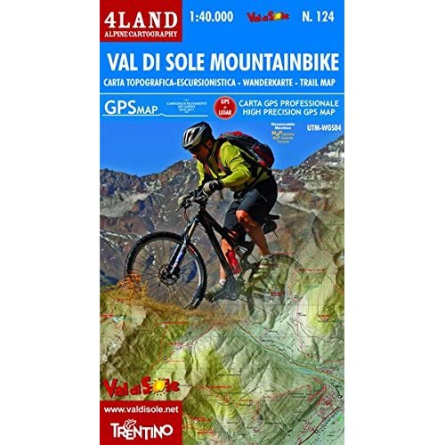 Val Di Sole Mountainbike - High Precision Topographic Map 1:40.000