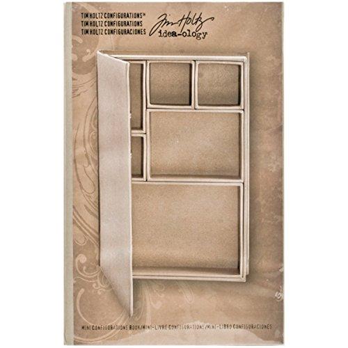 dea-Ology Mini Konfiguration Shadow Box Buch, beige ()