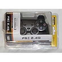 Contrôleur sans fil sans fil compatible PS2 - Wireless Cordless Compatible PS2 Controller