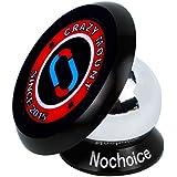 Nochoice® magnético para coche Soporte de smartphone para iPhone 6 / 6 Plus /se / 5 / 5S / 5C / 4 / 4S Samsung Galaxy S6 / S5 / S4 / Note 4 / 3 HTC Nexus LG G3 y dispositivo GPS(35 black)