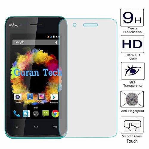 Guran® Displayschutz Glasfolie für Wiko Sunset Smartphone Screen Bildschirm Hartglas Schutzfolie Film