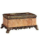 Tissue Box Tissue Box European Retro Wohnzimmer Couchtisch Luxus High-End-Tray
