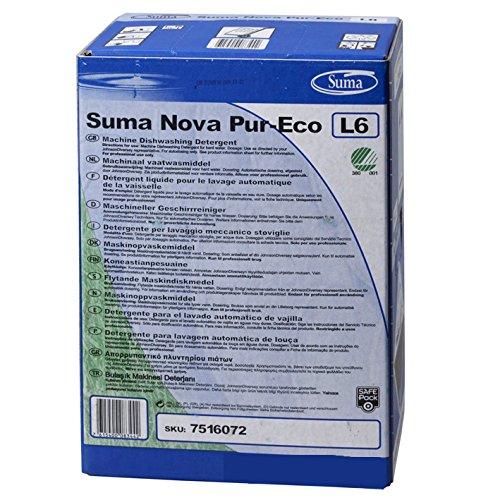 Spülmaschinenreiniger Diversey Suma Nova Pur-Eco L6 10 L Chlorfreier maschineller Geschirrreiniger (Suma Nova)