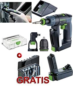 festool akkuschrauber cxs li 1 5 set aktions bitbox twinbox baumarkt. Black Bedroom Furniture Sets. Home Design Ideas