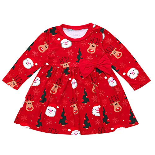 OverDose Damen Infant Baby Mädchen Weihnachtsfeier Tanz Niedlichen -