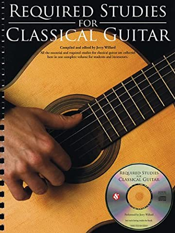 Required Studies For Classical Guitar Gtr