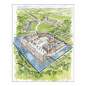 Media Storehouse 10x8 Print of Eltham Palace c.1604 N110031 (12310025)