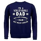 I'm a Volleyball Dad - Unisex Sweat - Bleu Marine - L