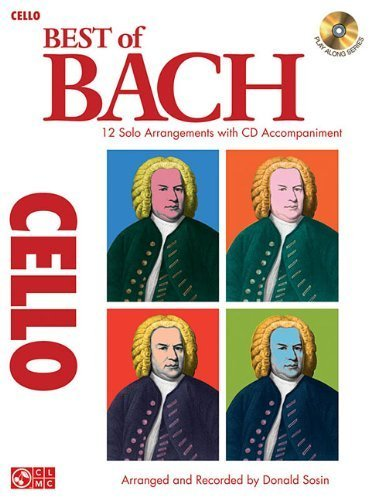 Best of Bach: 12 Solo Arrangements with CD Accompaniment (Play Along (Cherry Lane Music)) (2009-12-01)