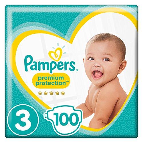 Preisvergleich Produktbild Pampers - New Baby - Windeln Größe 3 ( 6 - 10 KG ) - Giant Pack - Set von 2 (100 Schichten)