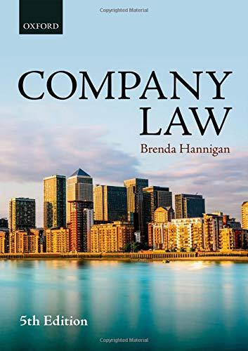 Company Law por Brenda Hannigan