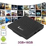 KM8P S912 2RAM+16G Flash Set Top Box Smart Octa Core TV Box For Android 2.4G WiFi Media Player US Plug Black