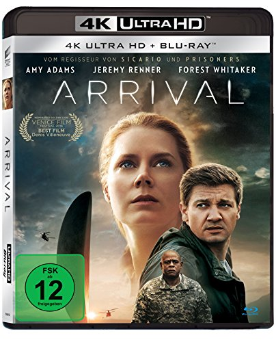 Arrival (4K Ultra HD) [Blu-ray]