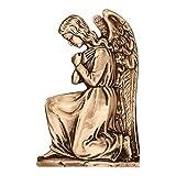 AmazinGrave - Dekorative Ornamenten Verschiedene, Grabdekorationen für Grabsteine Anwendung - Ornament für Grabstein 32x21cm - Grabschmuck Bronze 3040