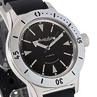 Vostok 2415de anfibios 120512Militar ruso reloj mecánico de Vostok Amphibian