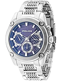 Police Herren-Armbanduhr Mesh Up Analog Handaufzug 14543JS/03M