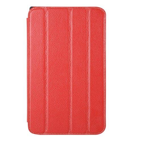 Melkco LGPA83LCSC6RDLC Premium Leder Case für LG Optimus G Pad 21,1 cm (8,3 Zoll) rot