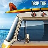 PWR Motor Ventosas para Techos de Coches Grip Tor, Set de 2