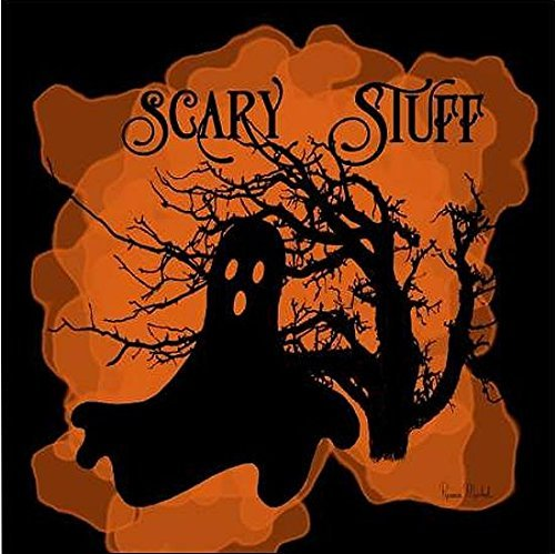 mona Murdock: Scary Stuff Leinwandbild Halloween Fantasy Gothic (100x100) (Scary Gothic Bilder)