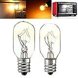 Bazaar 15W/25W 120V E12 Incandescent Glass Light Bulb Refrigerator Salt Oven Lamp