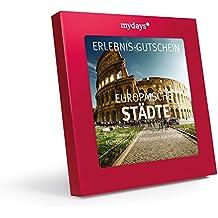 Hotelgutschein - mydays Magic Box: Europäische Städte - 2 Übernachtungen für 2 Personen - Geschenkidee zum Geburtstag