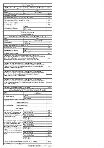 Beko FSM57100GW Herd (Elektro / Freistehend) / 50 cm / Restwärmeanzeige / PractiClean / schwarz / pflegeleichte Emaillierung / abnehmbare Backofentür - 3