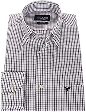 178636 - Bots & Bots - Camicia Uomo - Exclusive Collection - 100% Cotone - Button Down - Normal Fit