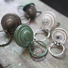 DiDi verde de cobre–Tirador de cajón–pequeño 3,5cm (diámetro)