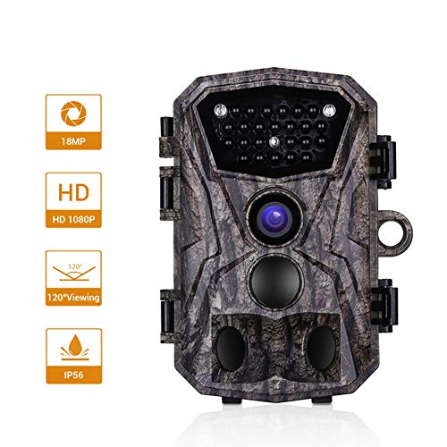 MC.PIG Wildkamera Jagdkamera H883 Wilde Wasserdichte Jagd Kamera Hd Automatische Infrarot Sensor Überwachungskamera