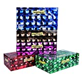 Mystique Soft 2 Ply Face Tissue- 100 Pulls Each Box (200 Sheets) Pack Of 5-500 Pulls (1000 Sheets)
