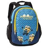 Minions 20359-0401 Kinder-Rucksack, 28 cm, 5 L, Blau