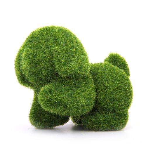 Preisvergleich Produktbild Gleader Gruenland Handgefertigte Kunstrasen Hund Gruen