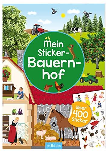 Mein Sticker-Bauernhof (Mein Stickerbuch) -