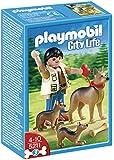 Playmobil - 5211 - Jeu de Construction - Berger Allemand et ses Petits