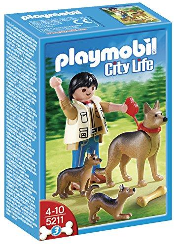 Playmobil - Pastor alemán con Cachorros 5211