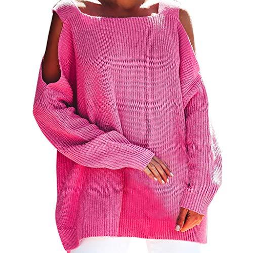 Casual Loose Strick Sweater Tops Outwear Sweatshirt