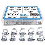 Seloky 88pcs 10Taille mini kit de style Assortiment de colliers de serrage...
