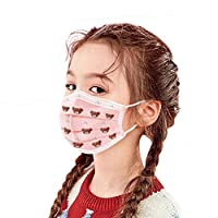 BeAcient 10Pack/40Pack Disposable Face Mask Kids, Industrial Earloop 3Ply Breathable Comfortable Dust Mouth Mask Suitable for Public Areas (40PCS)