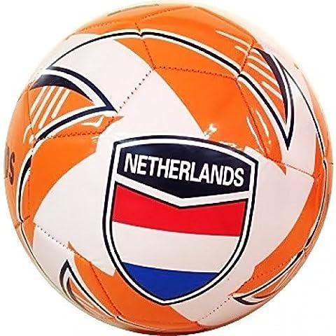 Calcio Erl 5 con Bandiera paese Paesi bassi / Holland / Paesi Bassi arancione - bianco Motivo 2015