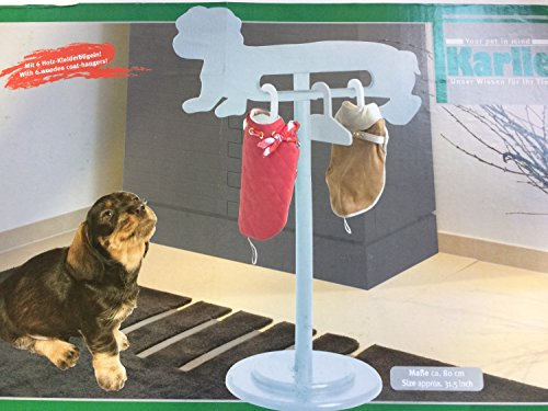 Artikelbild: Karlie Flamingo 16834 Hundemäntelhalter 80 cm mit 6 Bügeln