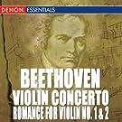 Beethoven: Violin Concerto - Romance for Violin No. 1 & 2