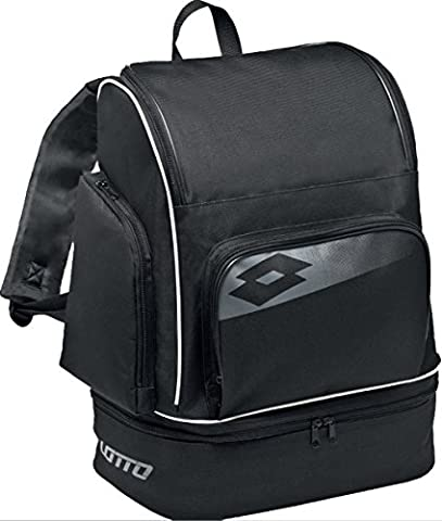 Lotto Backpack Soccer Omega Ii Black/ Grey Cement One Size