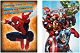 Hallmark Marvel Cards 'Pack of 8' - Small